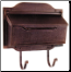 Contemporary Horizontal Wall Mount Mailbox