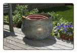 Sonoma Hose Pot - Brass