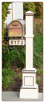 Craftsman Mailbox Post